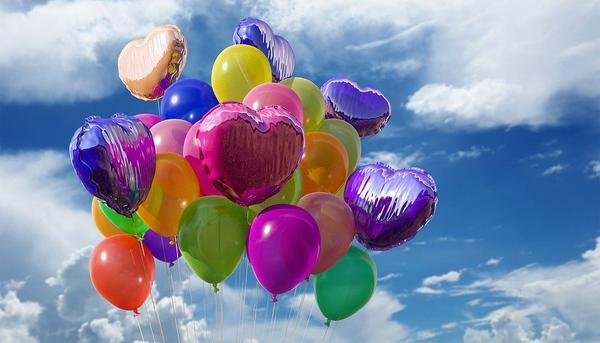 balony z helem na wesele bydgoszcz
